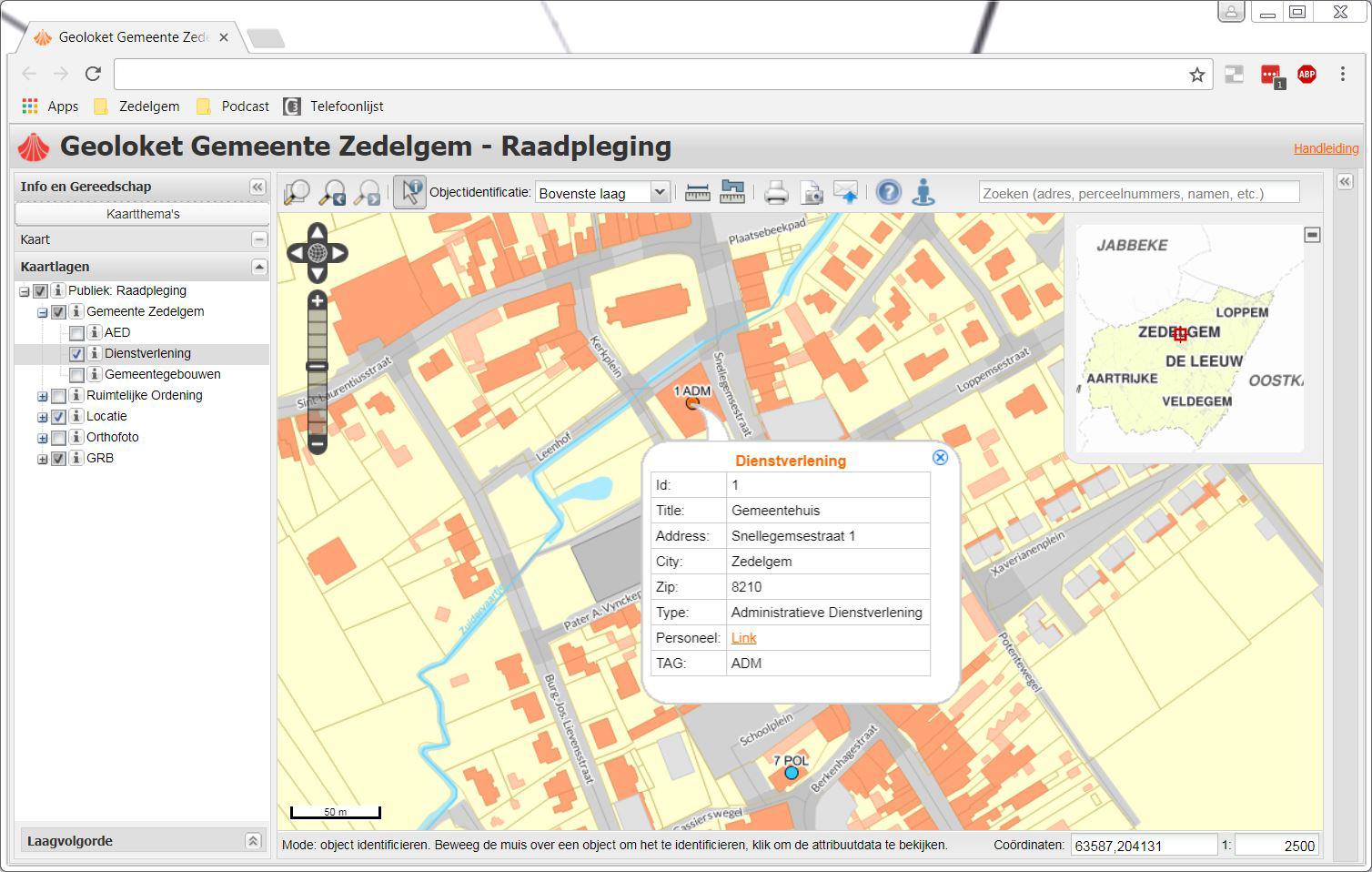Screenshot_Geoloket_Gemeente_Zedelgem